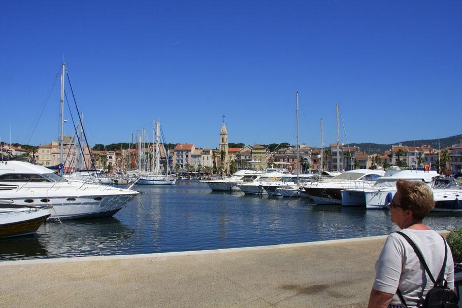 Bild: Blick auf Sanary-sur-Mer