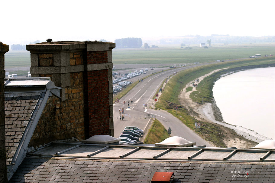 Bild: Blick auf den ehemaligen Fahr-Damm