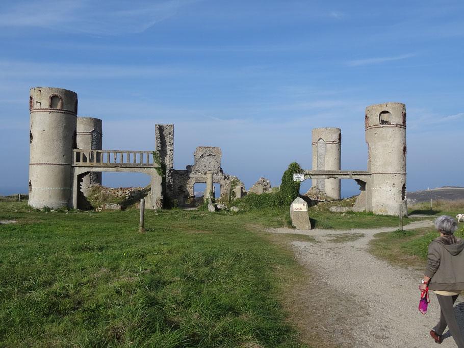 Bild: Ruine der ehemaligen Villa von Saint-Pol-Roux