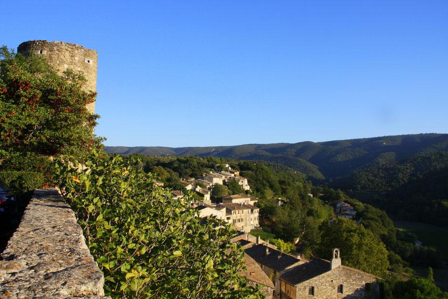 Bild: Blick von Ménerbes auf den Luberon