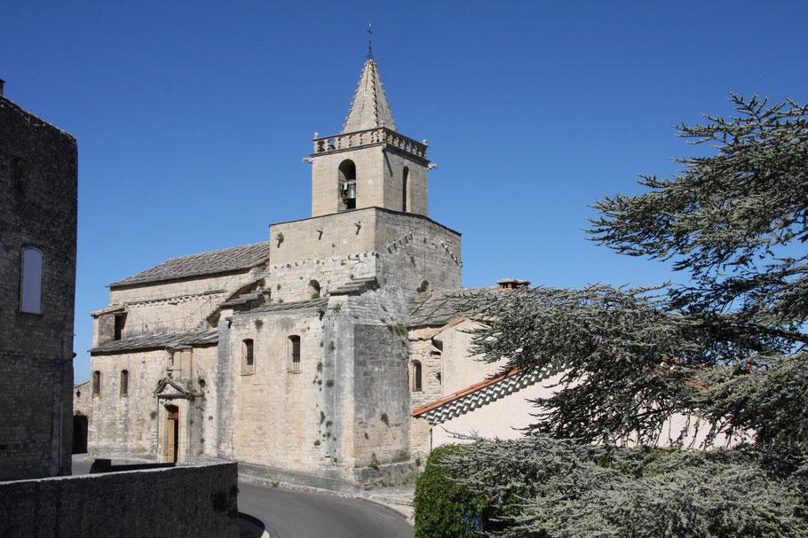Bild: Kirche Notre Dame in Venasque
