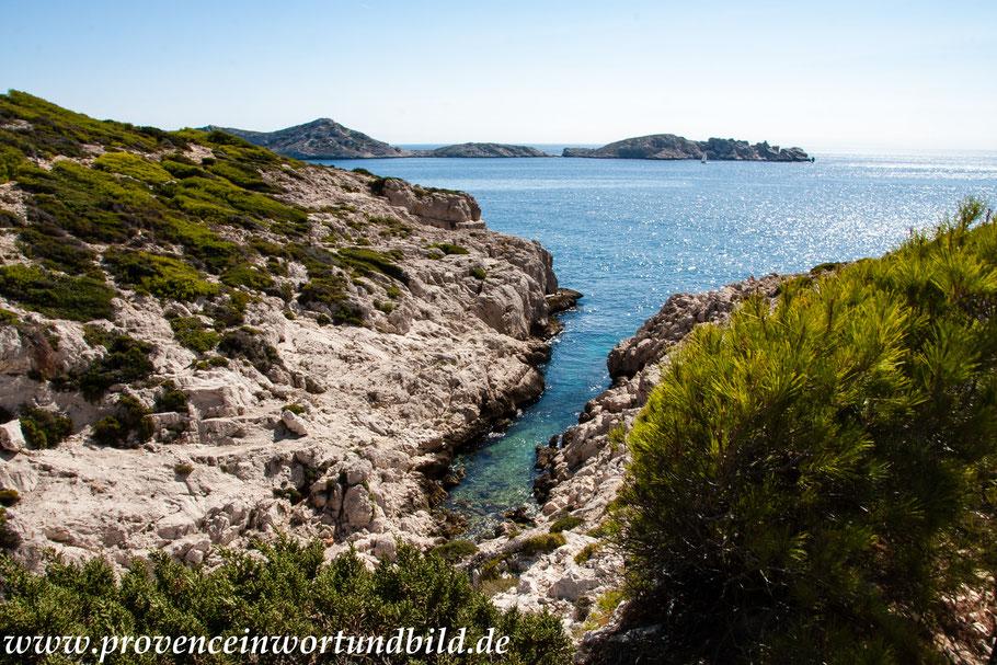 Bild: Wanderung bei Callelongue zur Calanque Marseilleveyre, hier Calanque La Mounine