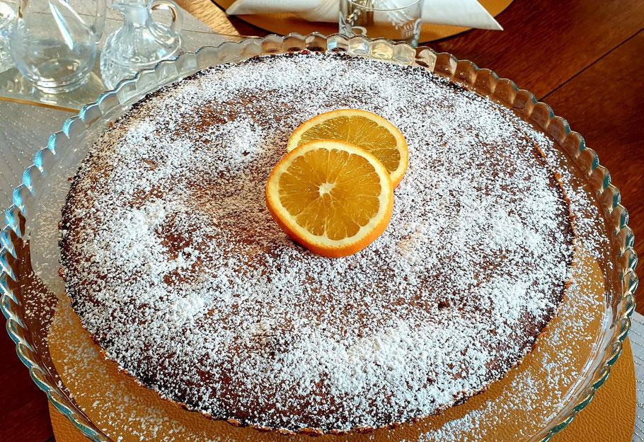Bild: Rezept Mandelkuchen provençale