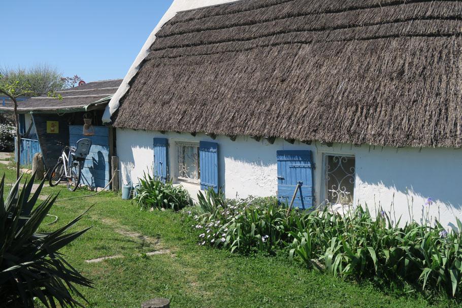 Bild: Camargue-Haus in Saintes-Maries-de-la-Mer