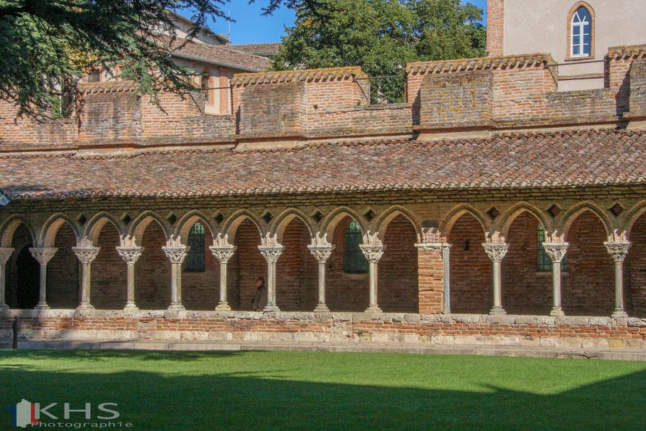 Bild: Kreuzgang der Abtei Saint-Pierre in Moissac