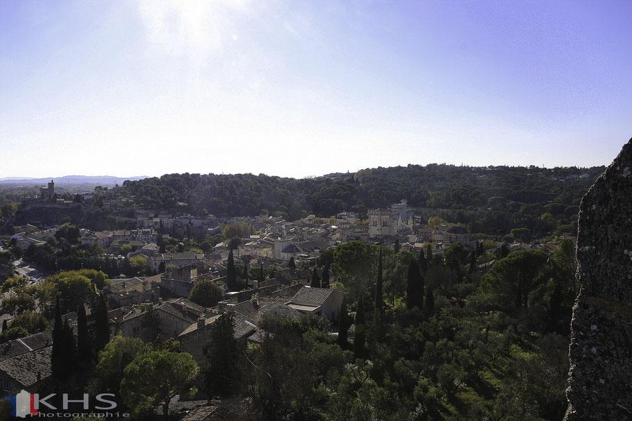 Bild: Blick vom Fort Saint André auf Villeneuve-lés-Avignon