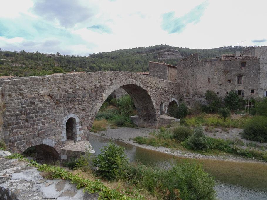 Bild: Pont de l`Alsou in Lagrasse
