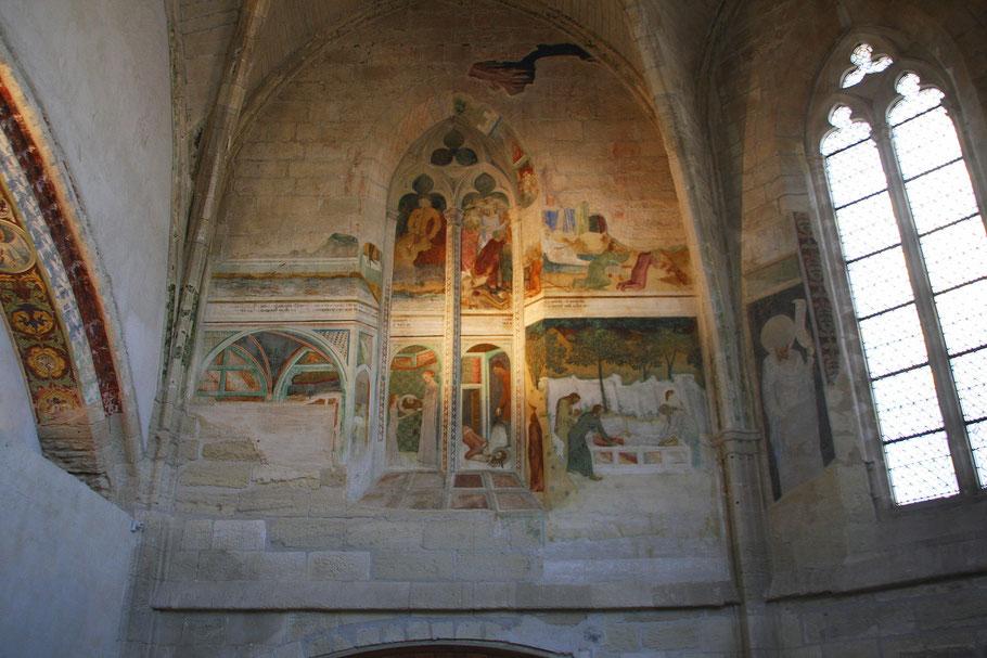 Bild: Frekenkapelle in der Chartreuse Pontificale du Val de Bénédiction in Villeneuve-lés-Avignon