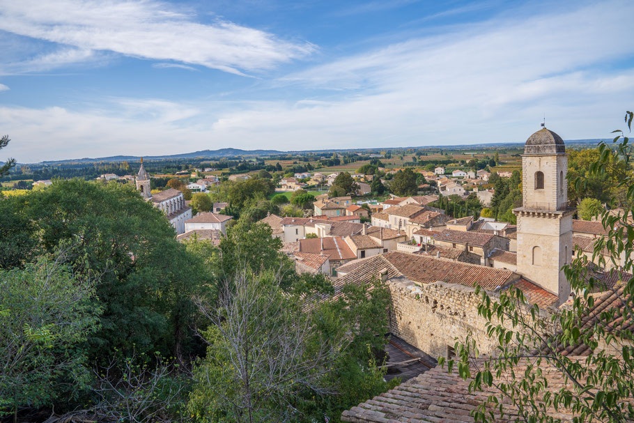 Bild: Boulbon im Bouches du Rhône hier Blick über Boulbon