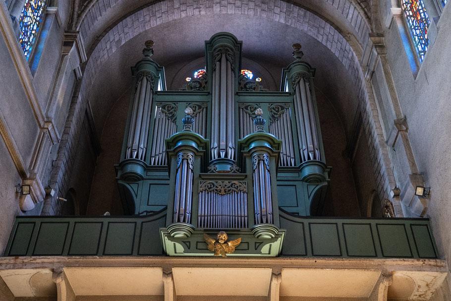 Bild: Orgel der Basilika Notre-Dame-de-la-Victoire, Saint-Raphael