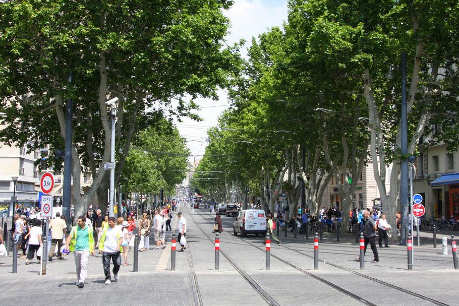 Bild: Innenstadt von Marseille