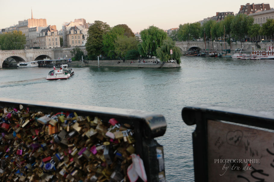 Bild: Blick von der Pont des Artes auf die Pont Neuf in Paris