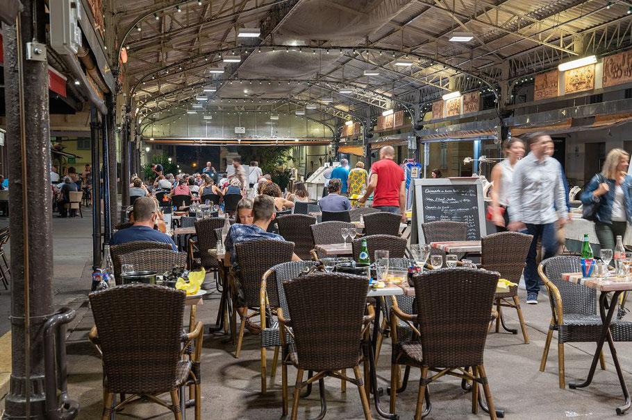 Bild: Alte Markthalle in Antibes
