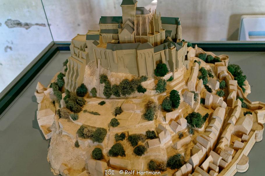 Bild: Blick Modell von Mont-Saint-Michel