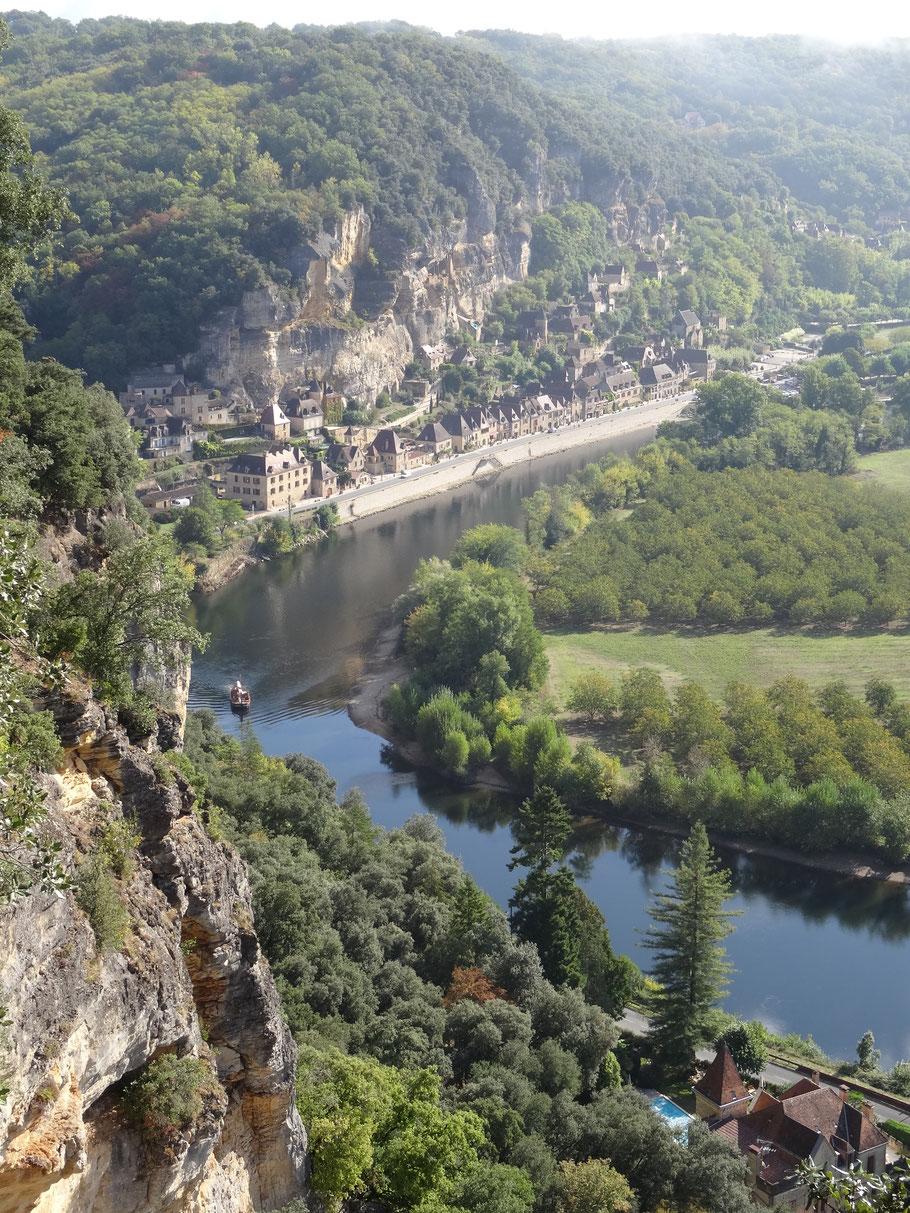 Bild: La Roque Gageac Von Marqueyssac aus gesehen