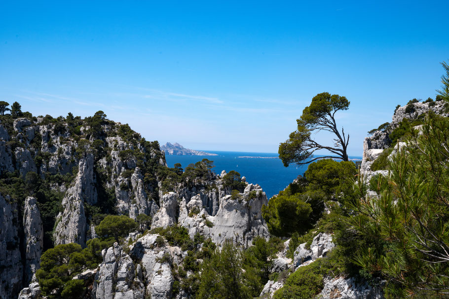 Bild: Blick über die Calanque d´en Vau hinaus