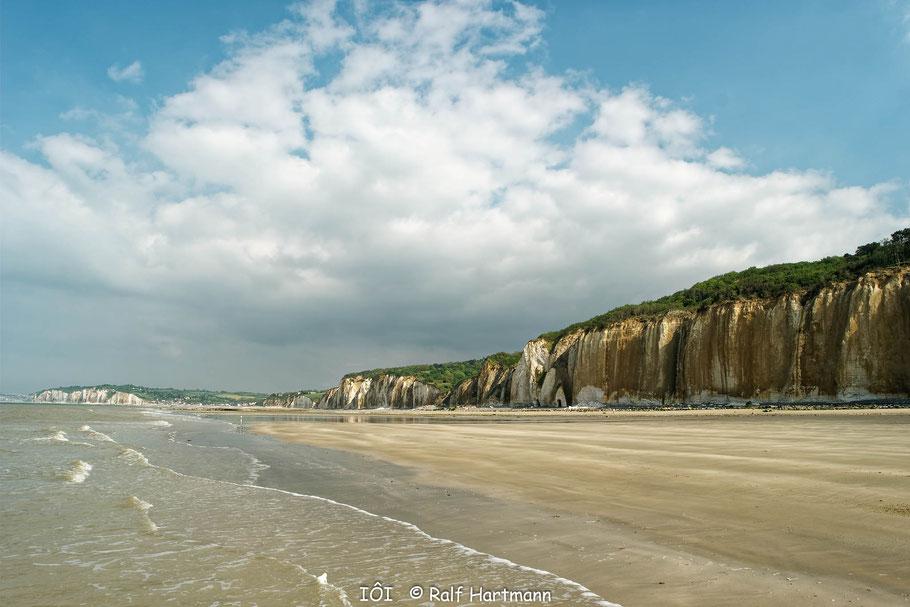 Bild: An der Alabasterküste nördlich von Fécamp vor Pourville-sur-Mer