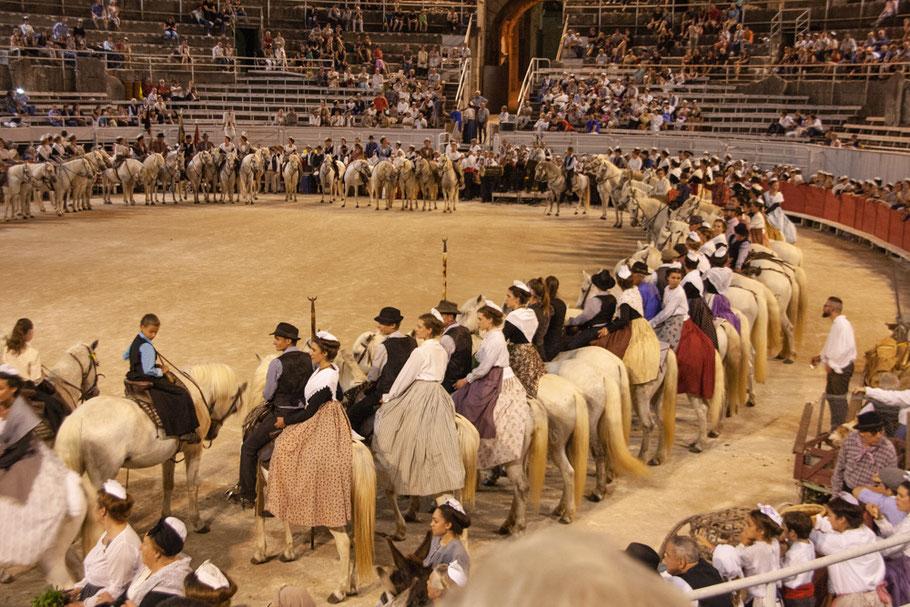 Viele Feste hier in Arles