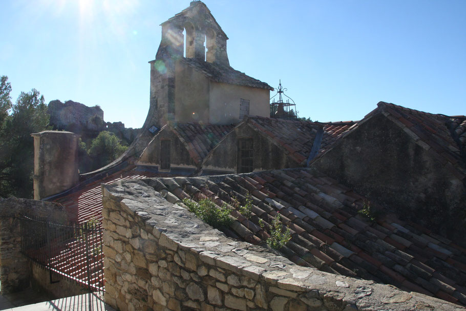 Bild: Glockenturm der Kirche in Gigondas
