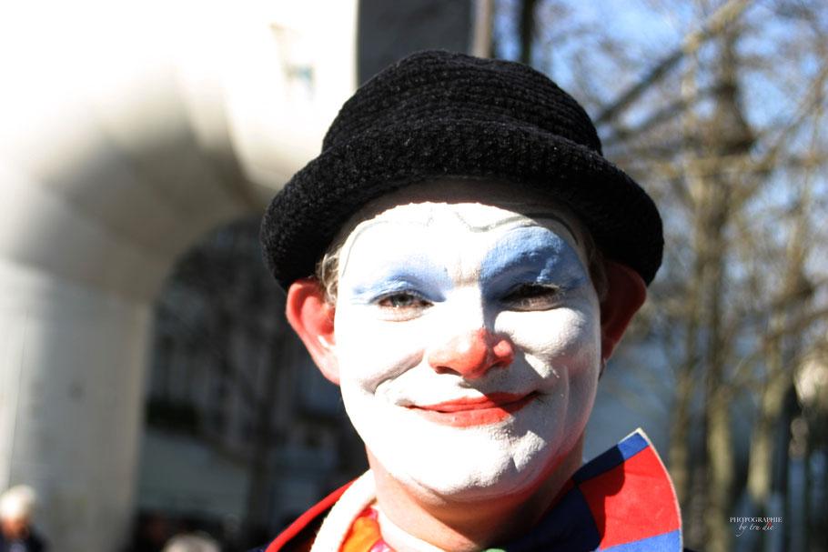 Der freundliche Clown, der sich liebend gerne fotografieren liess!