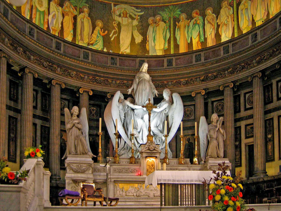 Bild: Innenansicht von Église La Saint-Marie-Madeleine