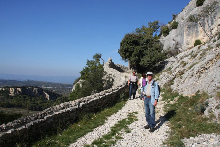 Bild: am Pas d´Ensarri bei einer Wanderung in der Nähe von Sivergues