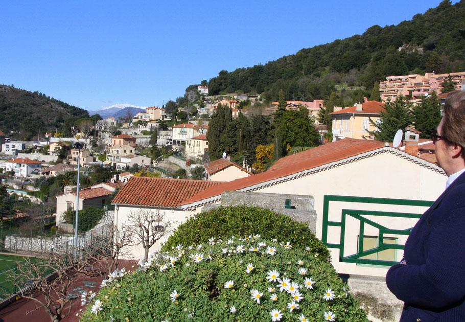 Bild: Blick auf La Turbie