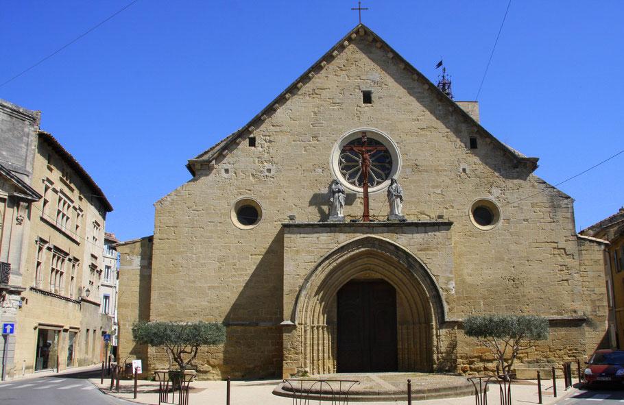 Bild: Eglise Notre Dame de la purifictation in Roquemaure