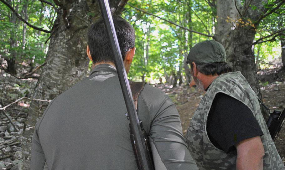 Bild: Jäger auf Korsika