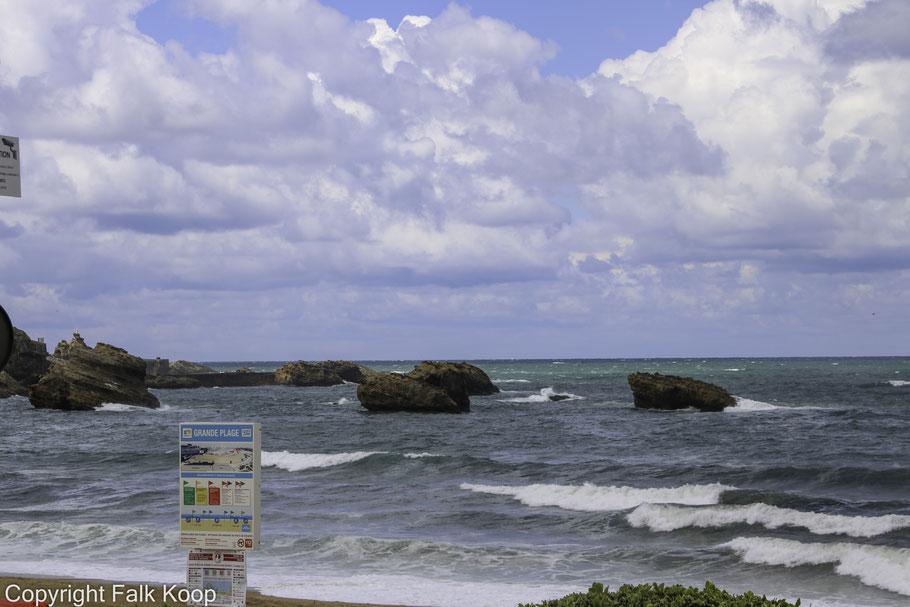 Bild: Grande Plage in Biarritz