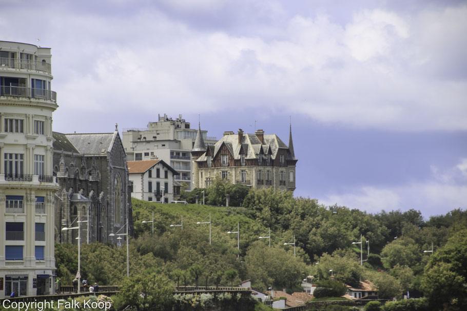 Bild: Blick auf Villa de Goéland in Biarritz
