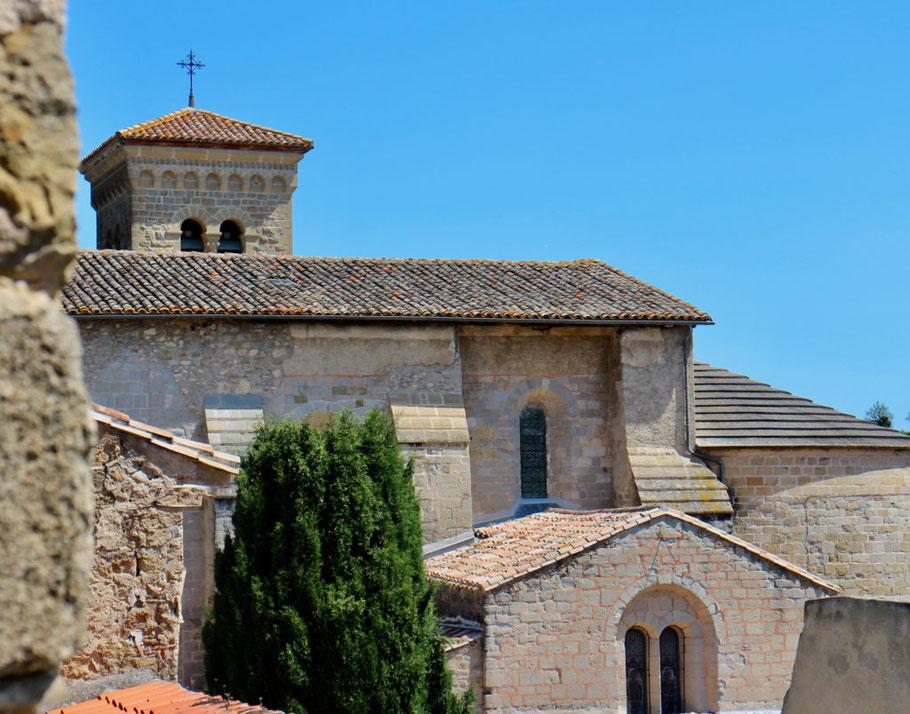 Bild: Abteikirche Saint-Hilaire