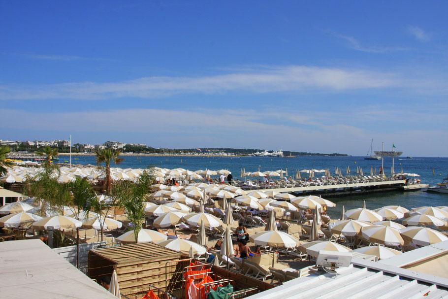Bild: Strandpromenade Cannes