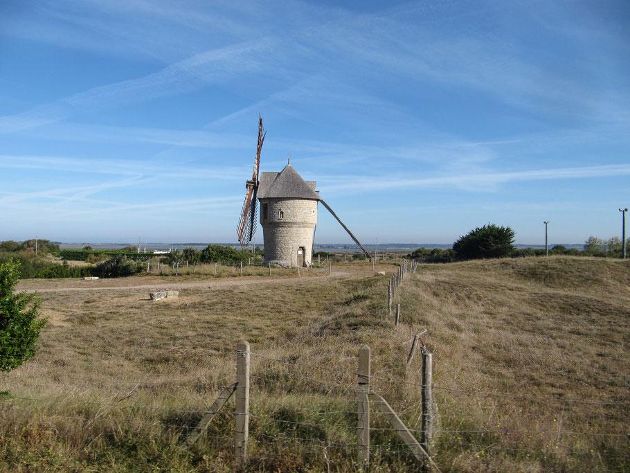 Bild: Moulin de Crémeur bei Guérande