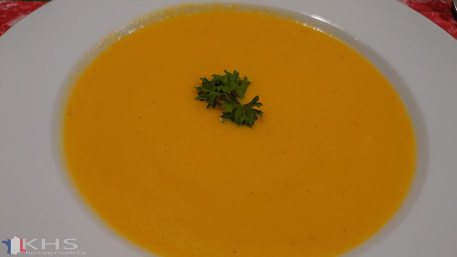 Bild: Rezept für Soupe à la carotte et au gingembre