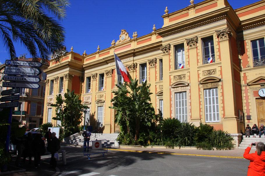 Bild: Hôtel de Ville in Menton