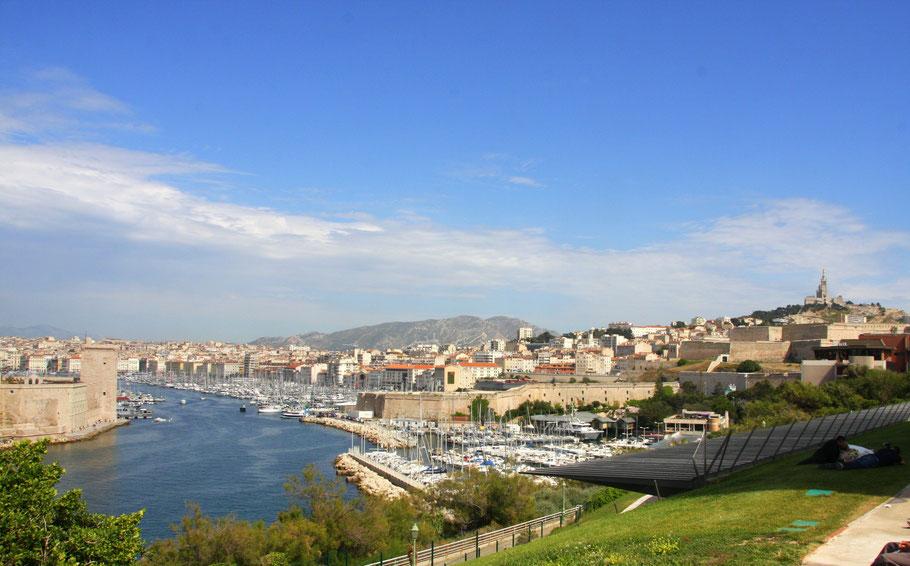 Bild: Aussicht von Palais du Pharo in Marseille