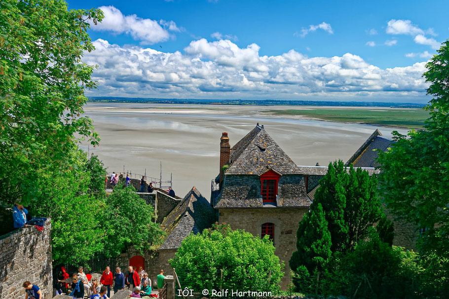 Bild: Blick die Ferne vom den Mont-Saint-Michel