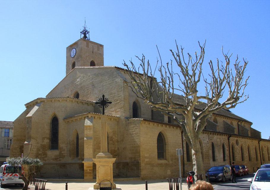 Bild: Kirche Roquemaure