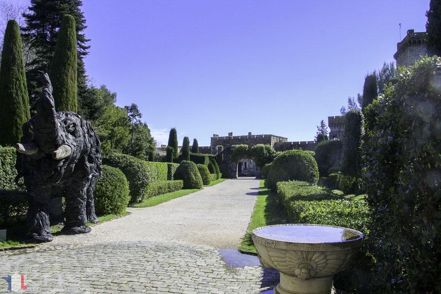Bild: Garten des Château La Napoule