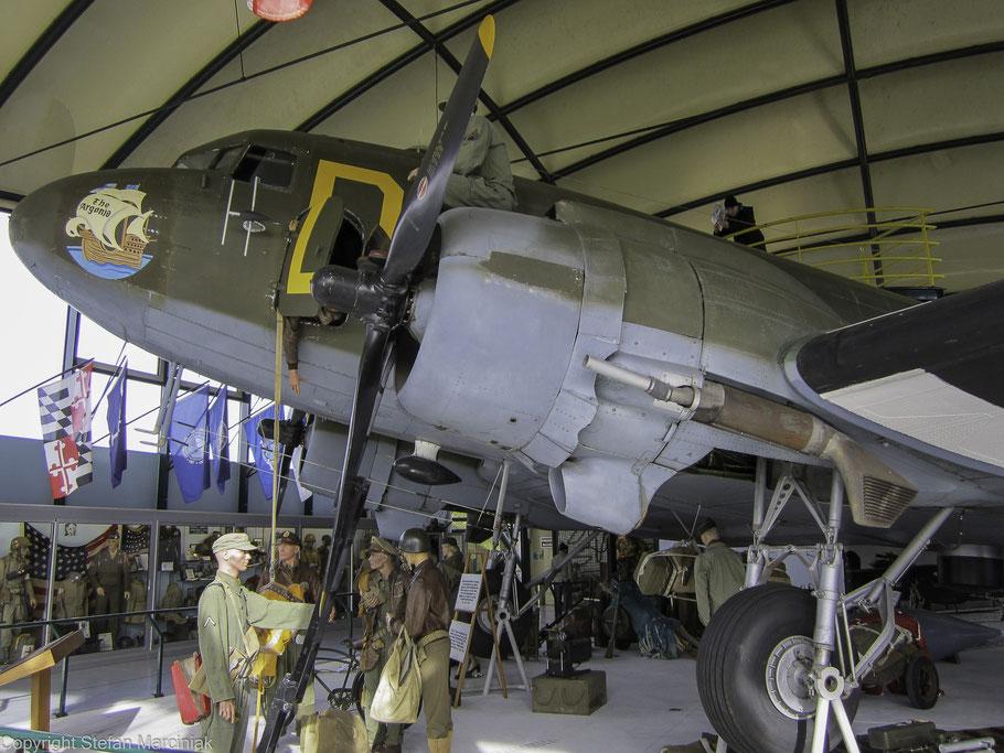 Bild: Airborne-Museum in Saint-Mère-Église