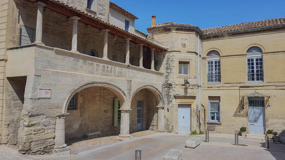 Bild: Maison des Chevaliers de Malte in Barbentane, Bouches du Rhône