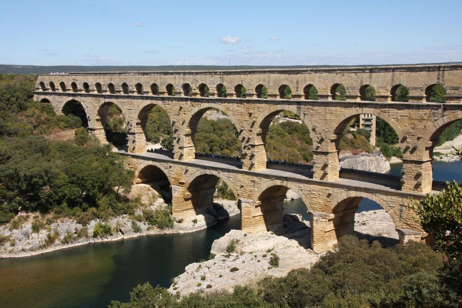Bild: Pont du Gard, Provence