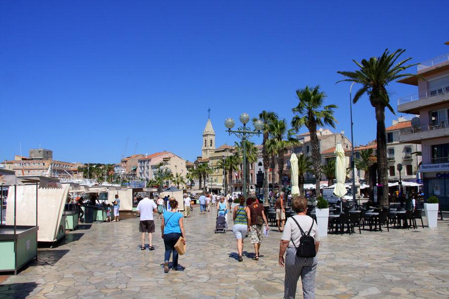 Bild: Promenade von Sanary-sur-Mer
