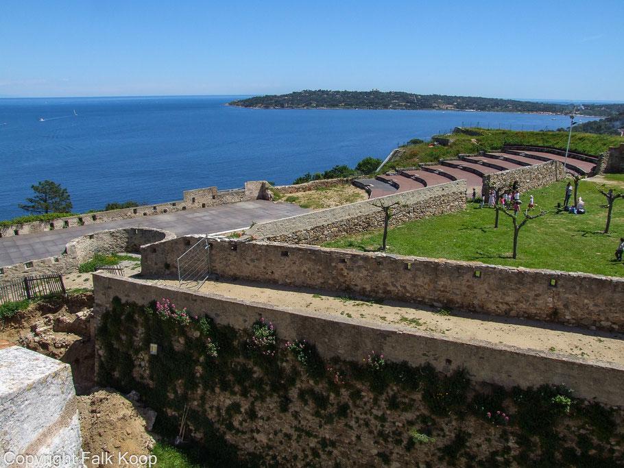 Bild: Blick über den Golf von St. Tropez