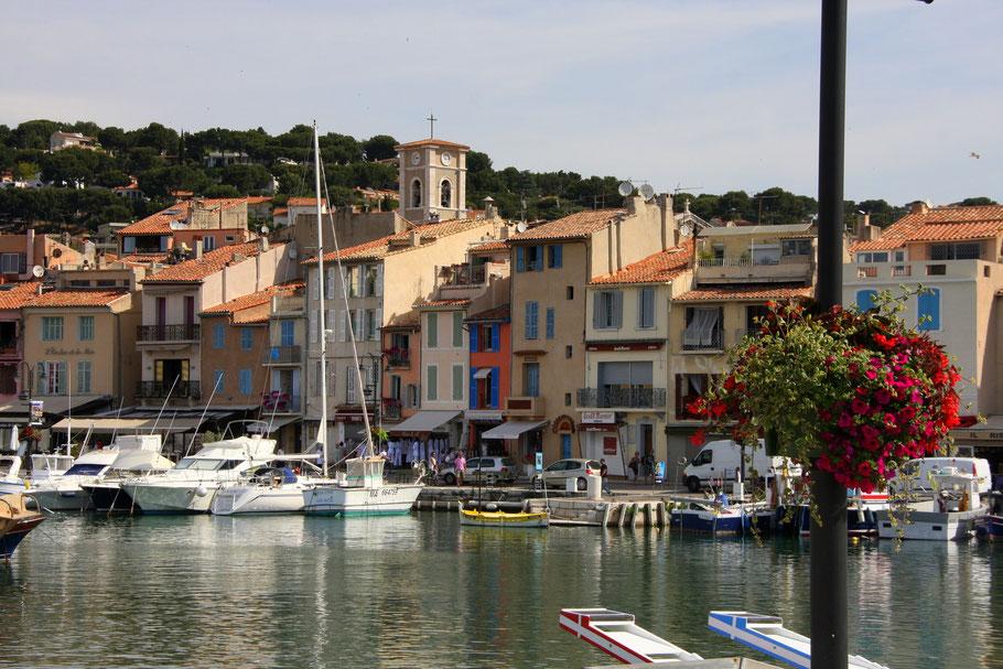 Bild: Im Hafen von Cassis