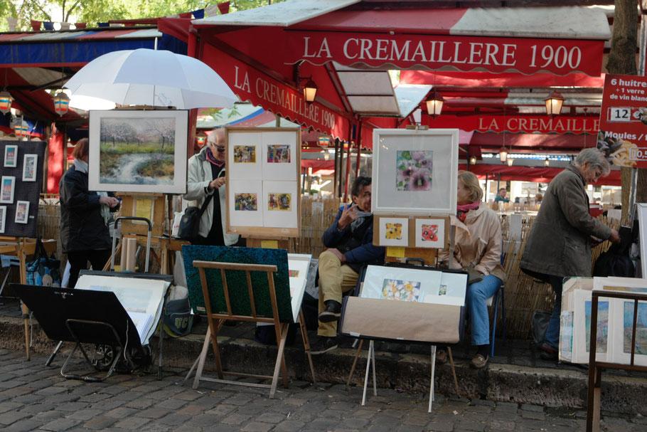 Bild: Place Tertre in Paris