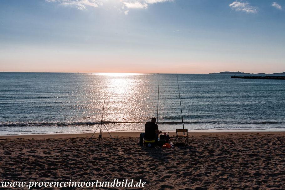 Bild: Strand bei Marseille