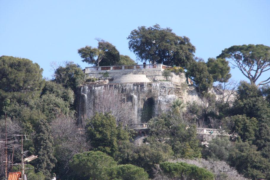 Bild: Cascade du Château in Nice (Nizza)