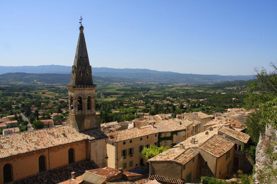 Bild: Blick über Saint-Saturin-lès-Apt
